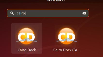 Launch Cairo Dock