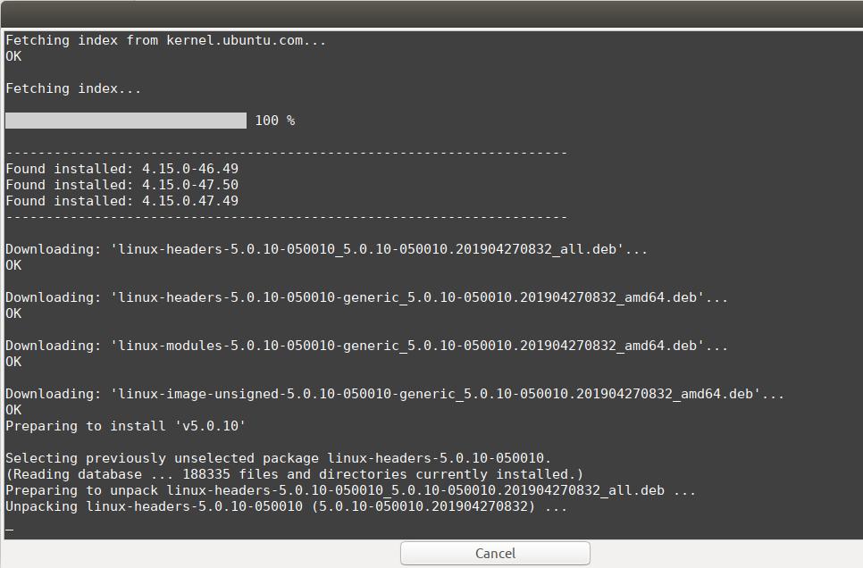 Installing new Linux Kernel