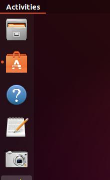 Ubuntu Activities Toolbar