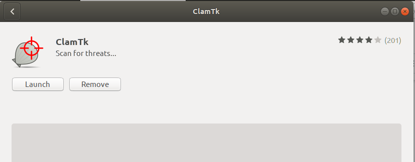 Launch ClamTK