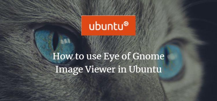 Ubuntu EOG