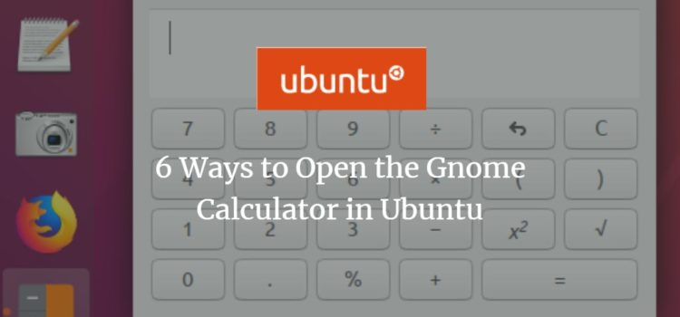Ubuntu GNOME Calc