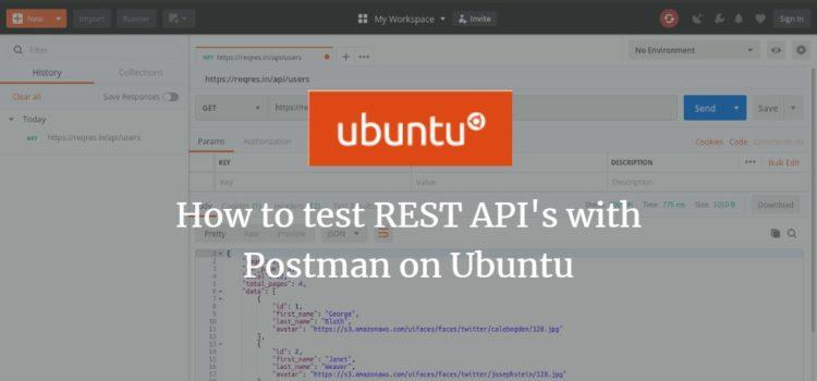 Postman REST API Tester