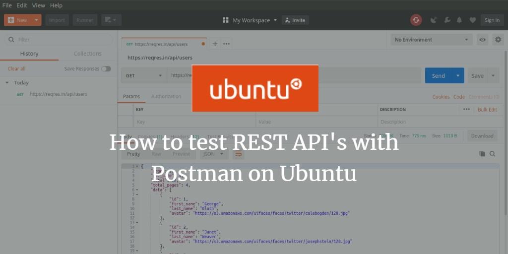 How to test REST API's with Postman on Ubuntu