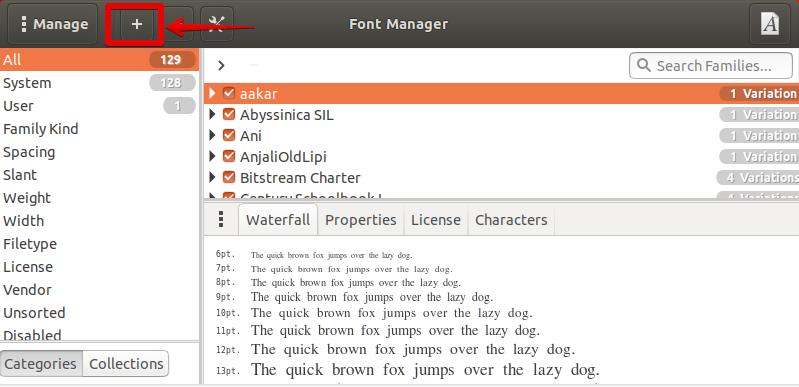 Add a new Font
