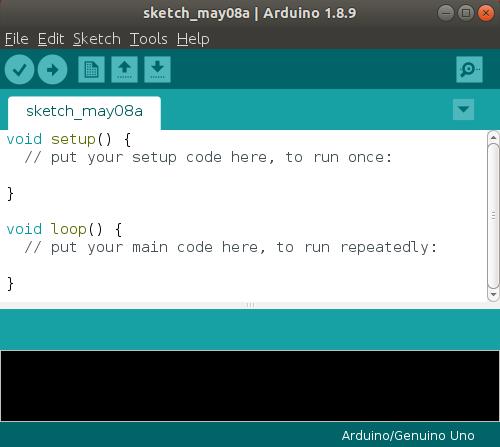 Launch Arduino IDE