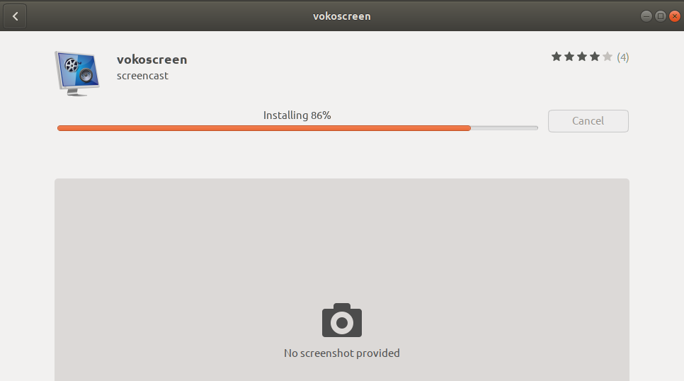 Installing Vokoscreen