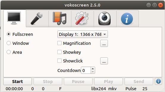 Screen Capturing Settings