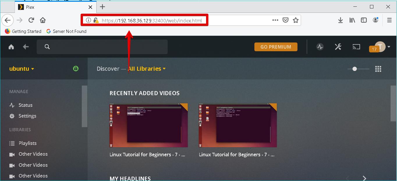 How to Install Plex Media Server on Ubuntu 18 04 LTS