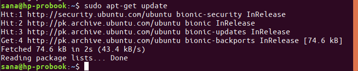 Install Ubuntu Updates