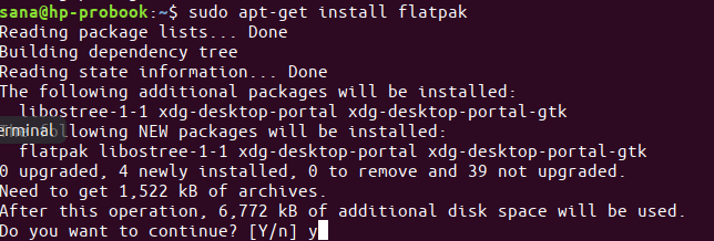 Install latest Flatpak version