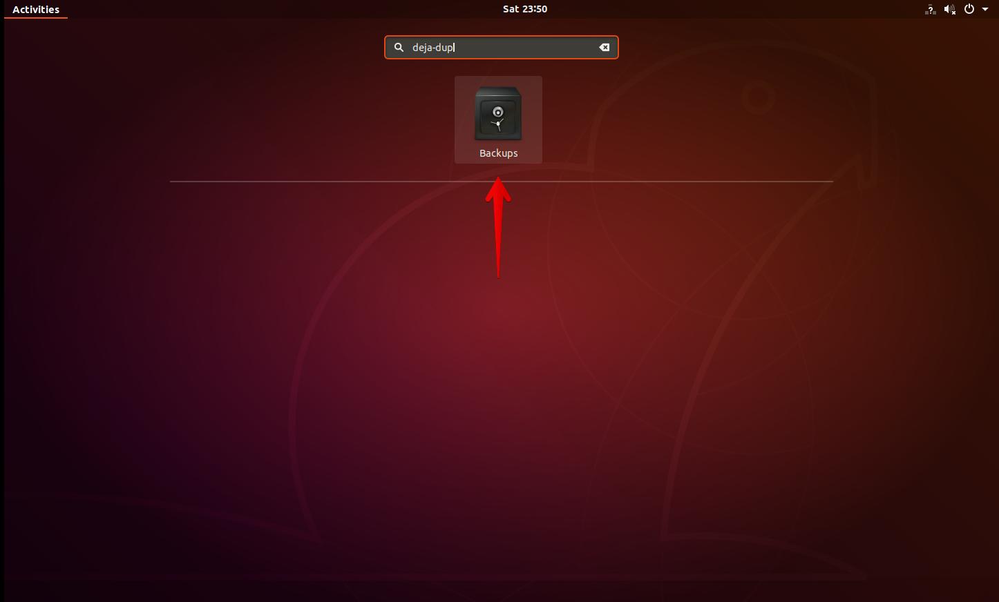 Ubuntu backups