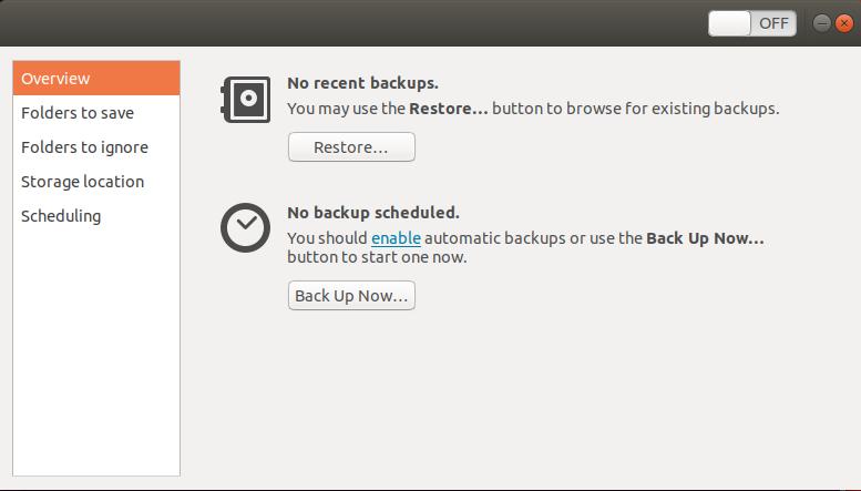 Ubuntu Backup Tool