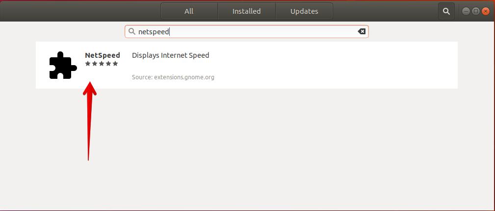 How to display Internet Speed on Ubuntu Desktop