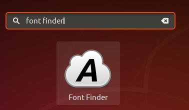 FontFinder Icon