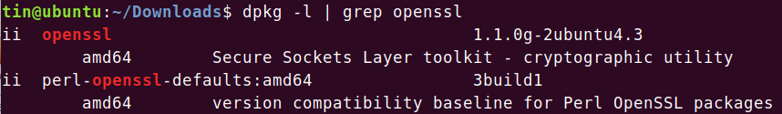 Check if OpenSSL is installed