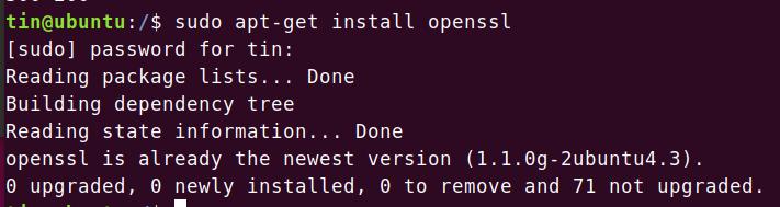 Install OpenSSL