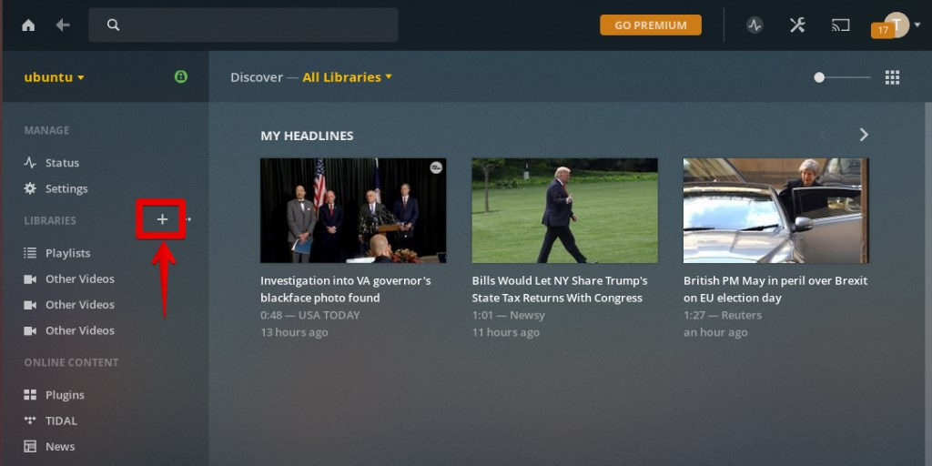 How to Install Plex Media Server on Ubuntu 18 04 LTS