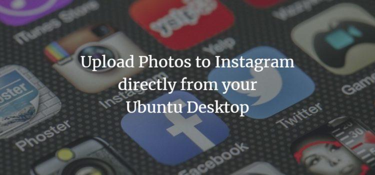 Ubuntu Instagram Client Program