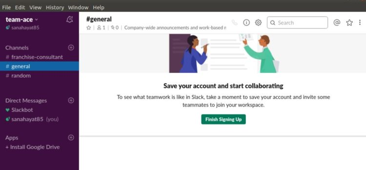 Team Collaboration with Slack on Ubuntu