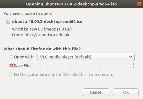Download Ubuntu ISO File