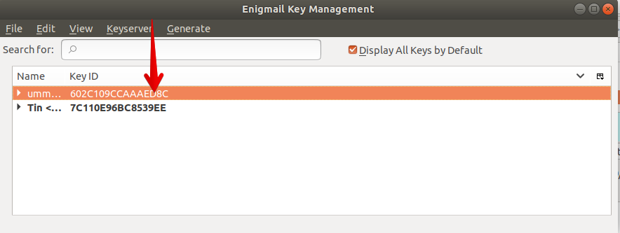OpenPGP Key management