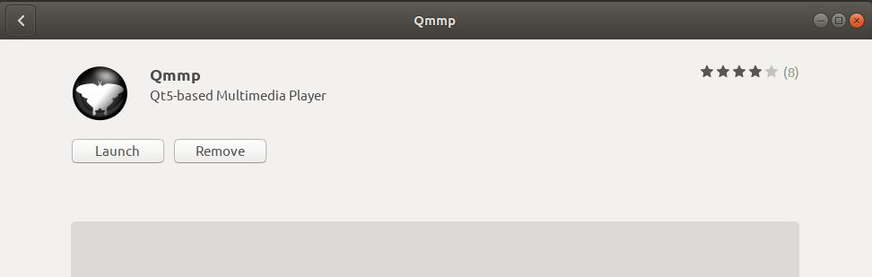 Launch QMMP