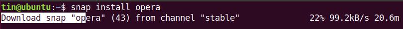 Install Opera Browser on Ubuntu