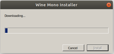 Wine Mono installer