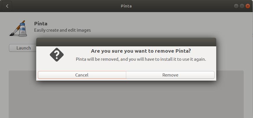 Remove Pinta