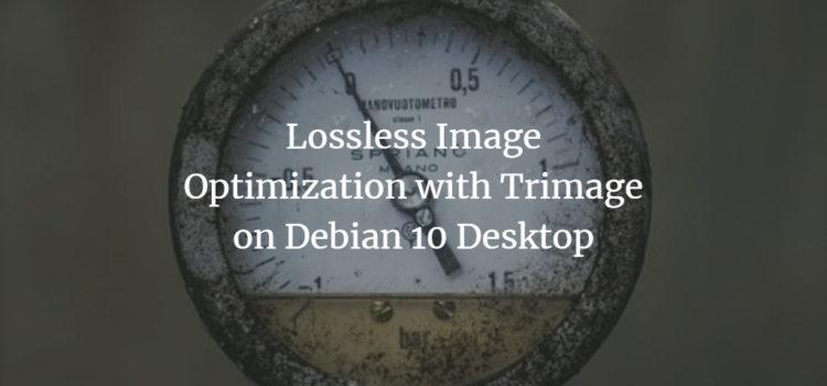 Debian Image Optimization
