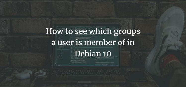 Debian Linux User Groups
