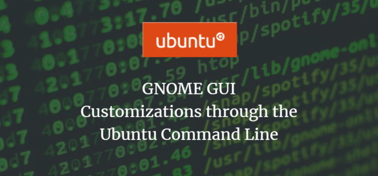 Ubuntu GNOME GUI Customization