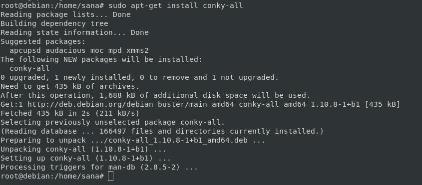 Install Conky