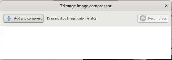 Trimage Image Compressor