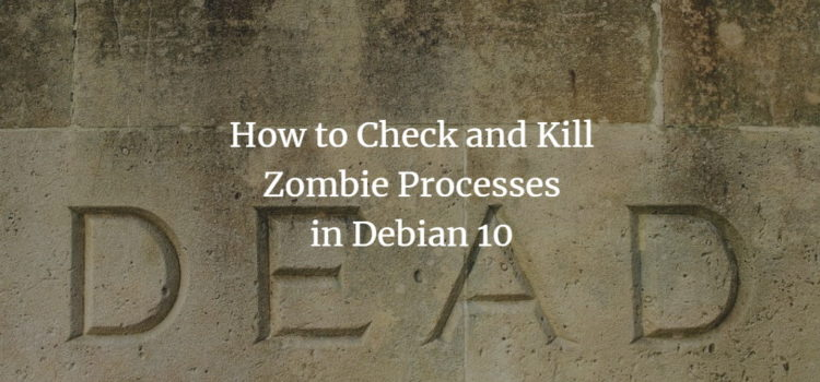 Debian Kill Zombie Process