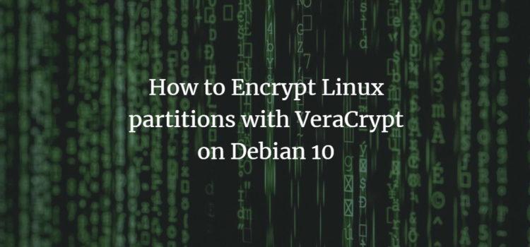 Debian 10 VeraCrypt