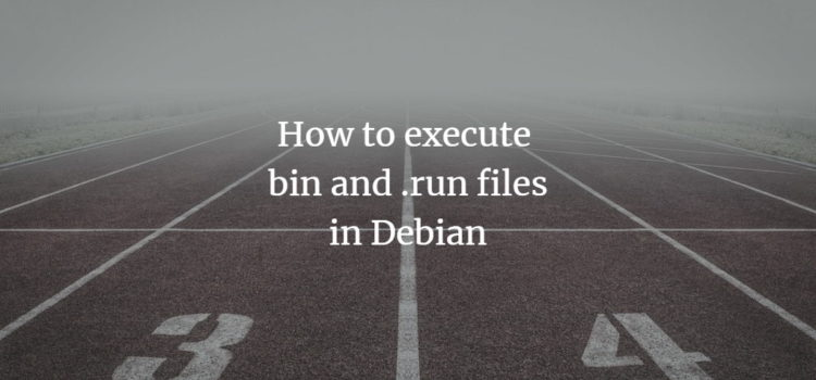 Make downloaded files executable on Debian