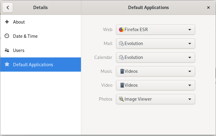 Default image viewer