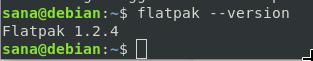 Check flatpak version