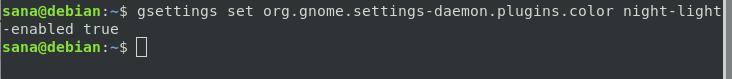 Use gnome settings