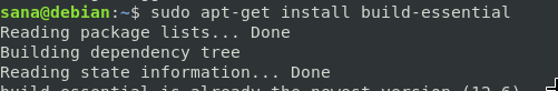 Install Build Essential Tools