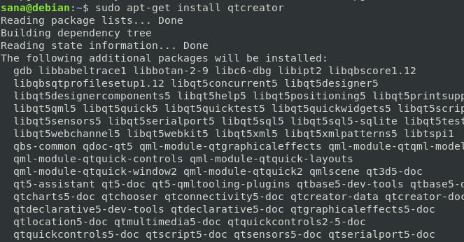 Install QT Creator
