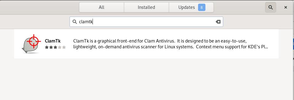 ClamTK Debian Package