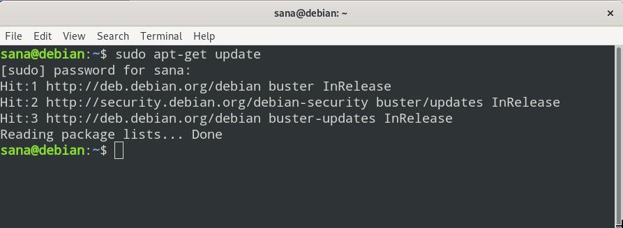 New font is shown in Debian terminal