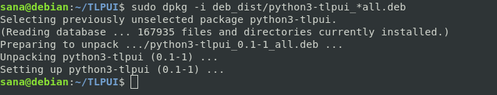 Install TLP Debian packages