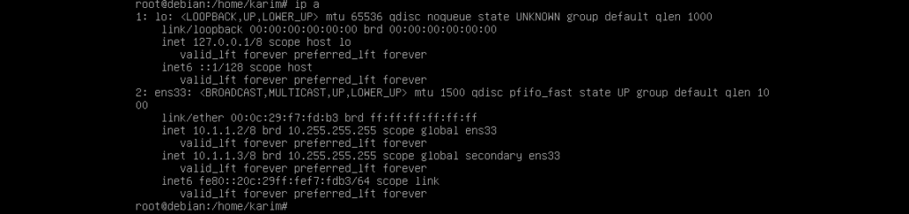 Configure listen IP of SSH server