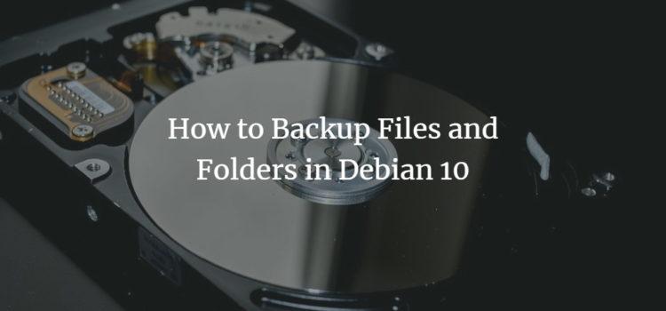 Debian Backup