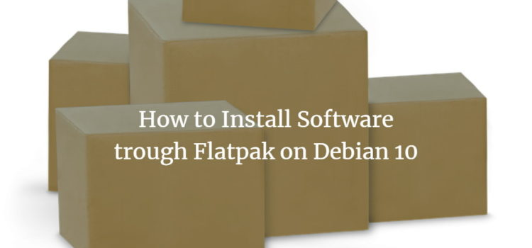 Debian FlatPak Software