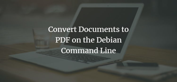 Debian PDF Converter